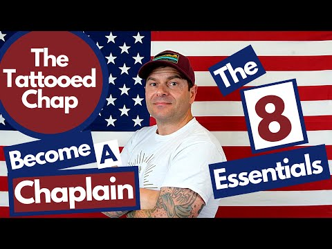 CHAPLAIN 101: The 8 Essentials To Becoming An Army Chaplain Reviewed By Drew, The Tattooed Chap.