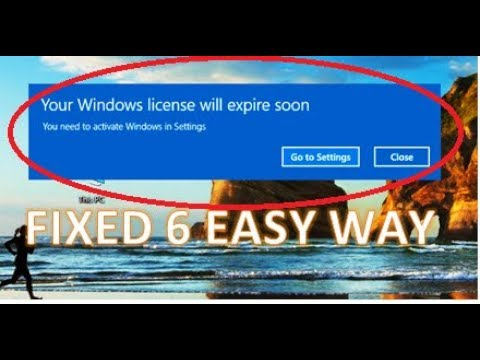 my windows is expiring soon