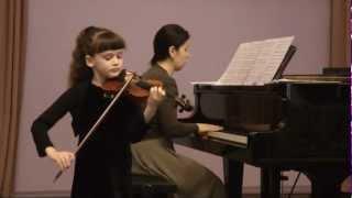 Eva Ter-Sarkisova - violin, age 8, Latvia