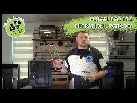Installing inTank Media Baskets in a Fluval Evo 13.5 Aquarium