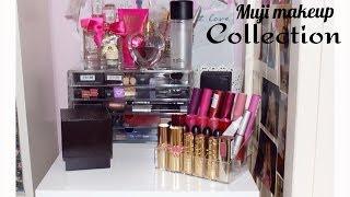 Make Up Collection & Storage Organisation: Muji Drawer Tour