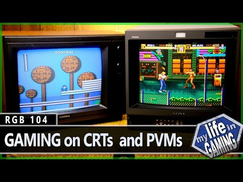 RGB104 :: Retro Gaming on CRTs and PVMs - MY LIFE IN GAMING