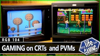 Gaming on CRT Televisions, PVMs and BVMs :: RGB104 / MY LIFE IN GAMING