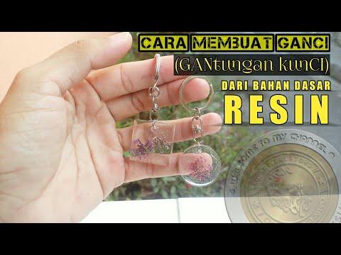 Mudahnya cara membuat GANCI (Gantungan kunci) dari resin