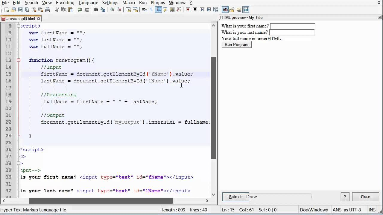 W03 javascript and html defining table youtube w03 javascript and html defining table gamestrikefo Images
