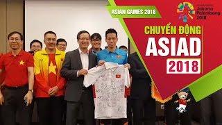 Đại sứ Việt Nam tại Indonesia thăm và động viên ĐT Olympic Việt Nam   VFF Channel