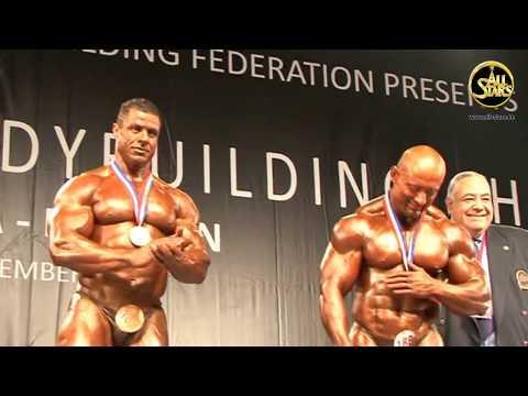 Bodybuilding; Winner +100 kg, Hamouda Ahmed, Egypt