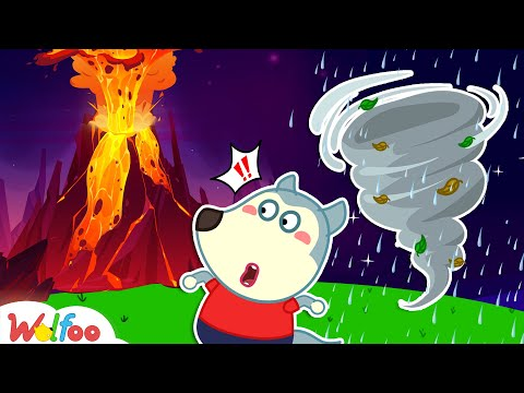 Wolfoo! Watch Out for Dangers When Natural Disasters Happen - Learn Kids Safety Tips | Wolfoo Family