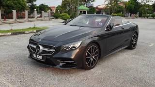 2019 Mercedes-Benz S 560 Cabriolet shows the best of what Mercedes can do | EvoMalaysia.com