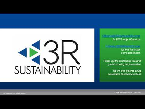 LEED Project Series - Part 3 - Integrative Process, Sites, And Location  & Transportation