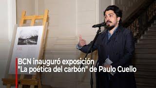"""BCN inauguró exposición """"La poética del carbón"""" de Paulo Cuello"""