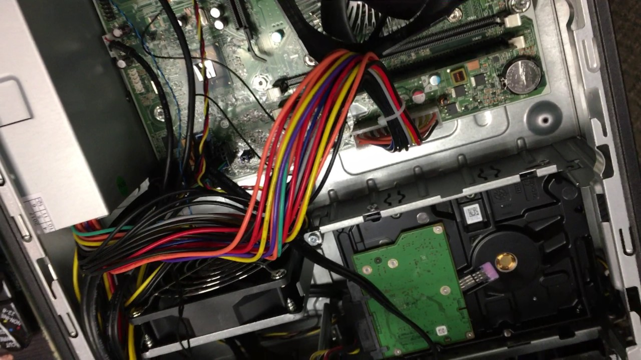 HP Slimline won't power on! How to replace power supply