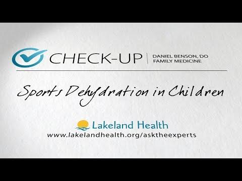 Check-Up: Sports Dehydration In Children (Daniel Benson, DO)