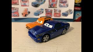 Disney Cars Damaged Rod Redline and Grem Review