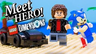 LEGO Dimensions: Sonic and Knight Rider - Meet the Heroes Trailer