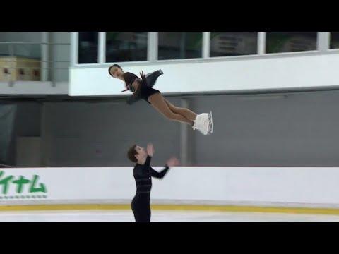 Laiken LOCKLEY / Keenan PROCHNOW USA -Riga - Pairs Free Skating  - ISU  -JGP 2017