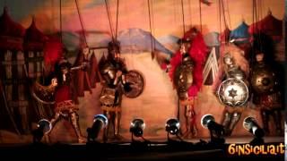 Opera dei Pupi Siciliani - La morte di Orlando