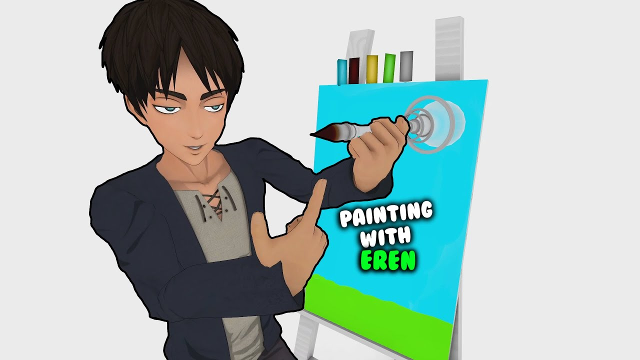 Painting with Eren (AOT VR)