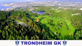 Trondheim Golfklubb Filmet Med Drone
