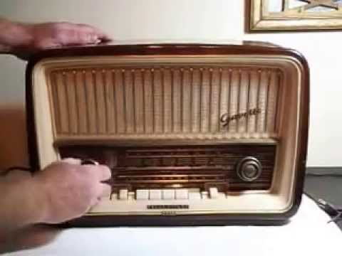 RARE! GERMAN RADIO Telefunken Gavotte  8U Export - Hi Fi System- 1957/58 Demonstration AM/FM/SW