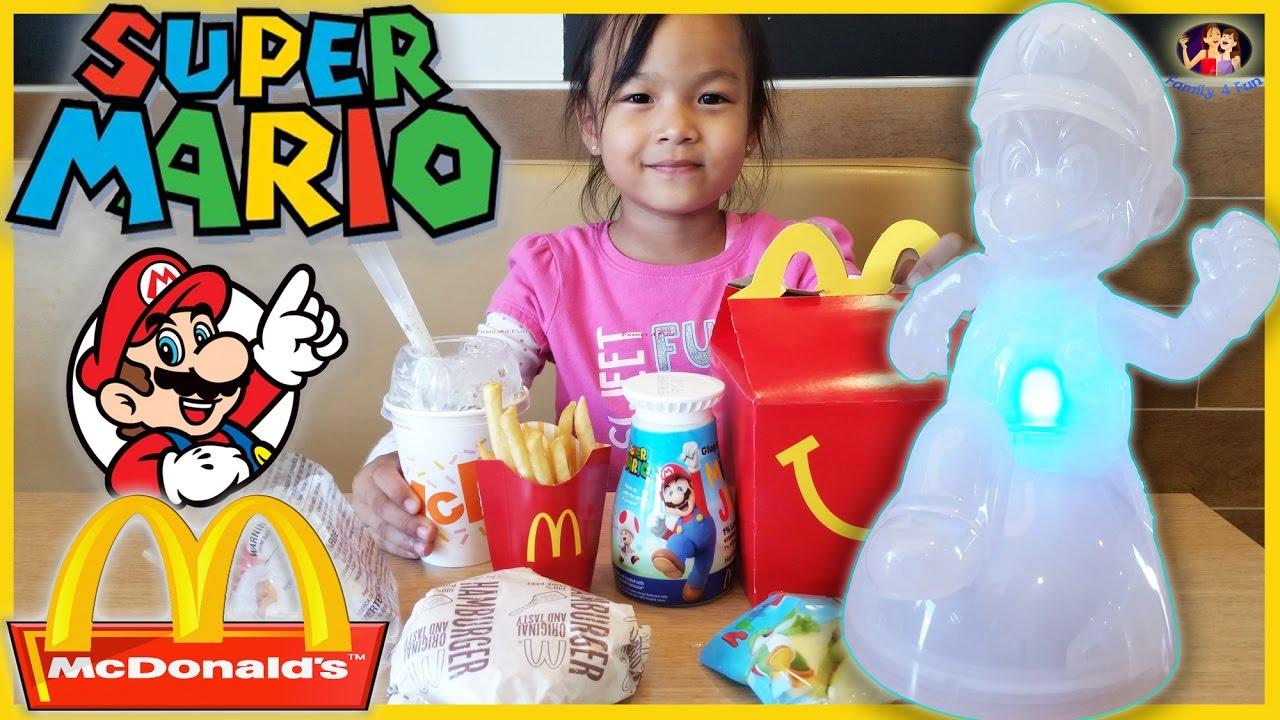Super Mario McDonalds Happy Meal Kid Toy 2017 Invincible