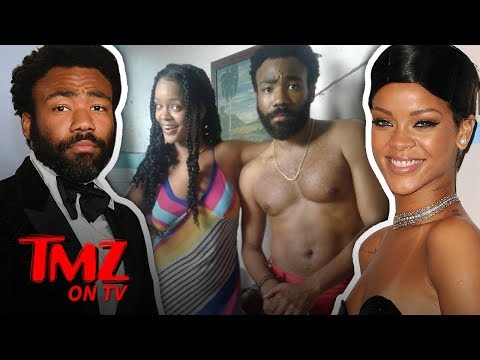 Rihanna & Donald Glover Secret Project?! | TMZ TV