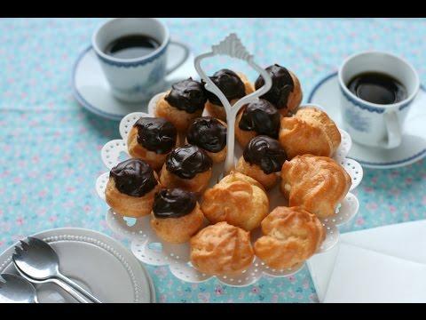 Cách làm bánh SU KEM - How to make CREAM PUFFS (Recipe) - Ep.8