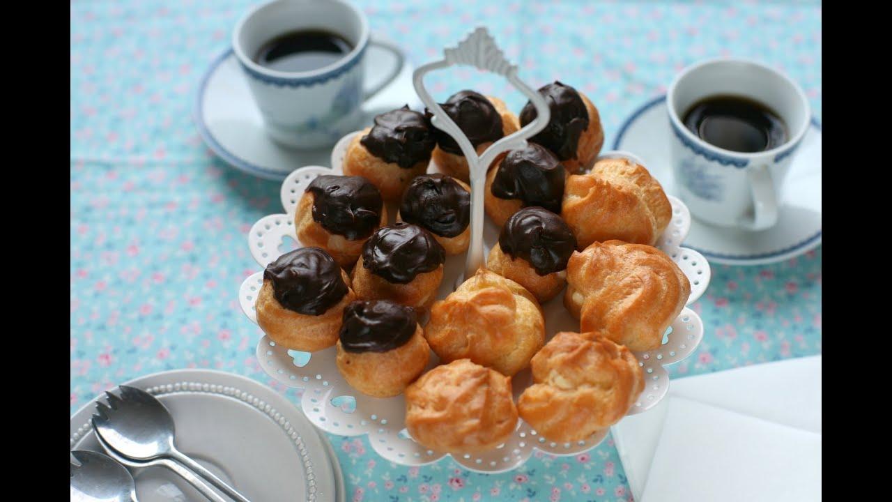 Cách làm bánh SU KEM – How to make CREAM PUFFS (Recipe) – Ep.8