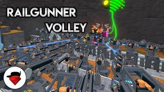 A Quad Op of Railgunners vs Void | Tower Battles [ROBLOX]