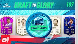 LETS GOOO! THE GOAT SHOW! | FIFA 20 DRAFT TO GLORY #107