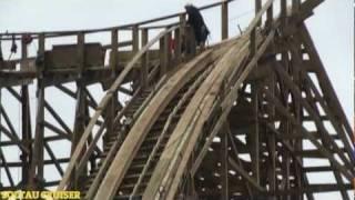"""Neue Achterbahn 2012 """"Wodan"""" im Europa-Park Rust (full HD)"""