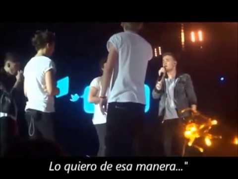 one direction momentos divertidos en conciertos subtitulados en español