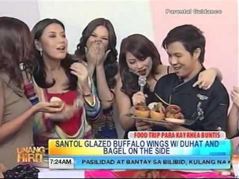 Unang Hirit with Chef Hasset Go   Rhea Santos  Birthday! June 01, 2011