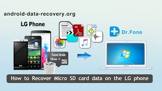 How to Recover Micro SD card data on the LG phone by LG Phone Data Recovery