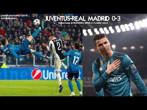 JUVENTUS-REAL MADRID 0-3 - Radiocronaca di Francesco Repice & Claudio Sala (3/4/2018) da Rai Radio 1