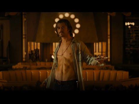 """Bad Times at the El Royale soundtrack """"HUSH"""". Chris Hemsworth noodle dance    ."""