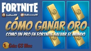Comment gagner DES CURRENCIES d'OR dans FORTNITE Save the World Like a Professional