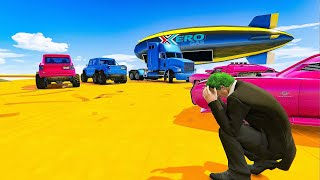 16-player Double Decker Sumo - GTA V Online Funny Moments | JeromeACE