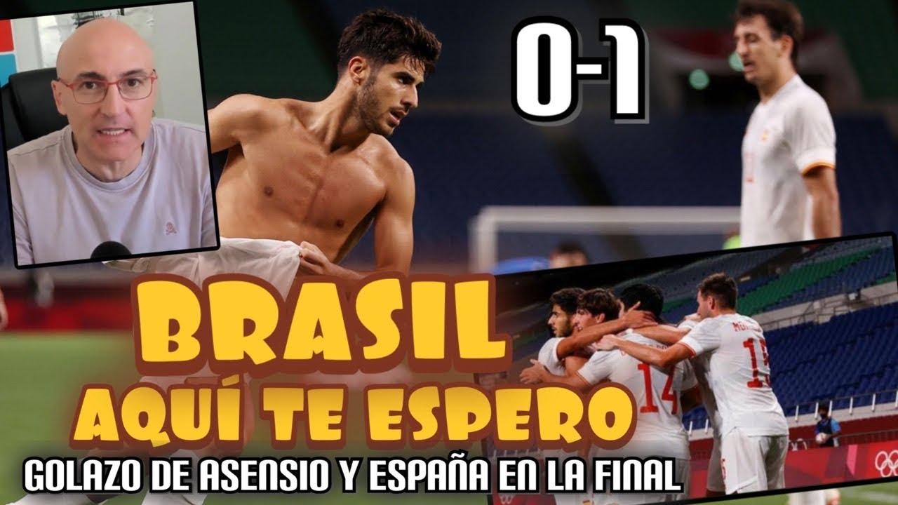 ASENSIO METE A ESPAÑA EN LA FINAL OLÍMPICA. JAPÓN COMPITIÓ HASTA EL FINAL, LO MEJOR Y LO PEOR.