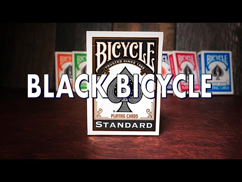 Deck Review - Black Rider Back 808s - Playing Cards
