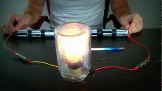 Homemade Light Bulb. Attempt #2 - Zombie Survival Tips #8