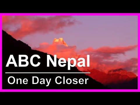 Annapurna Trekking Video: Hiking path rooms & accommodation en-route to ABC Base Camp