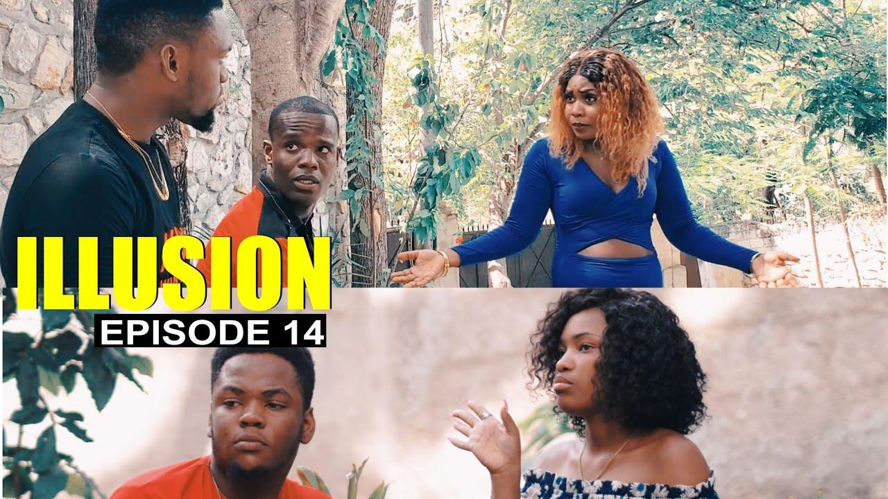 ILLUSION ( Épisode #14 ) Trankil ak Yvan kenbe Fedna, Lion pa la