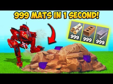 *SUPER OP* 999 MATS IN 1 SECOND!! – Fortnite Funny Fails and WTF Moments! #648 thumbnail