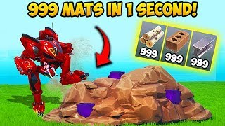 *SUPER OP* 999 MATS IN 1 SECOND!! - Fortnite Funny Fails and WTF Moments! #648