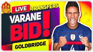 UNITED BID FOR VARANE! SANCHO Latest! Man Utd Transfer News
