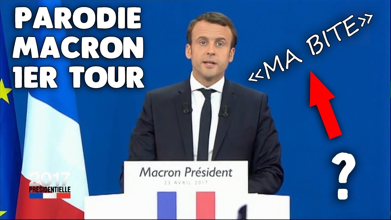 parodie discours emmanuel macron qualifie au premier tour de la pr sidentielle 2017 le 23. Black Bedroom Furniture Sets. Home Design Ideas