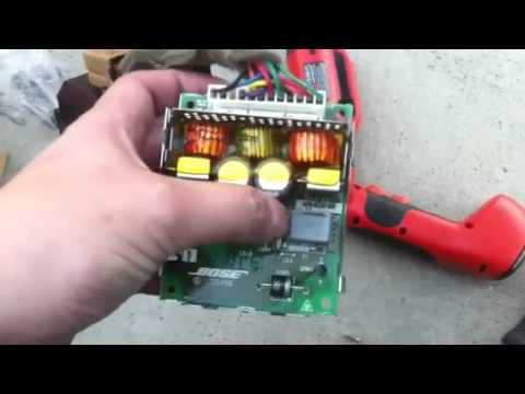wiring diagram for subs and amp electromagnetic spectrum labeled 350z subwoofer repair youtube