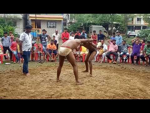 Chetan chavhan mud wrestling Indian kusti