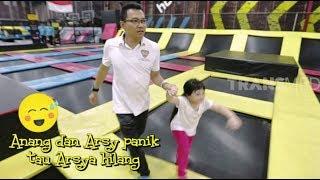 Arsy Panik, Arsya HILANG Saat main Trampolin | DIARY ASIX (01/09/19) Part 1